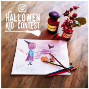 Instagram Halloween Kid Contest