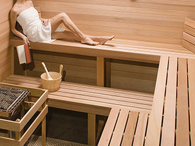sauna escale d tente spa de bordeaux. Black Bedroom Furniture Sets. Home Design Ideas