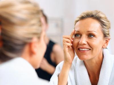 soin visage peau mature