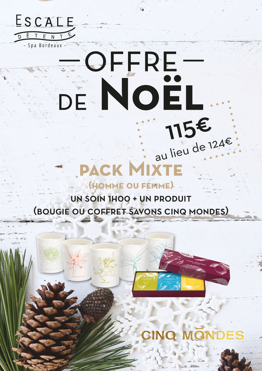 Noel 2018 Pack Mixte