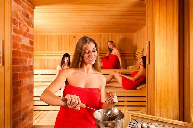 un sauna privatisé