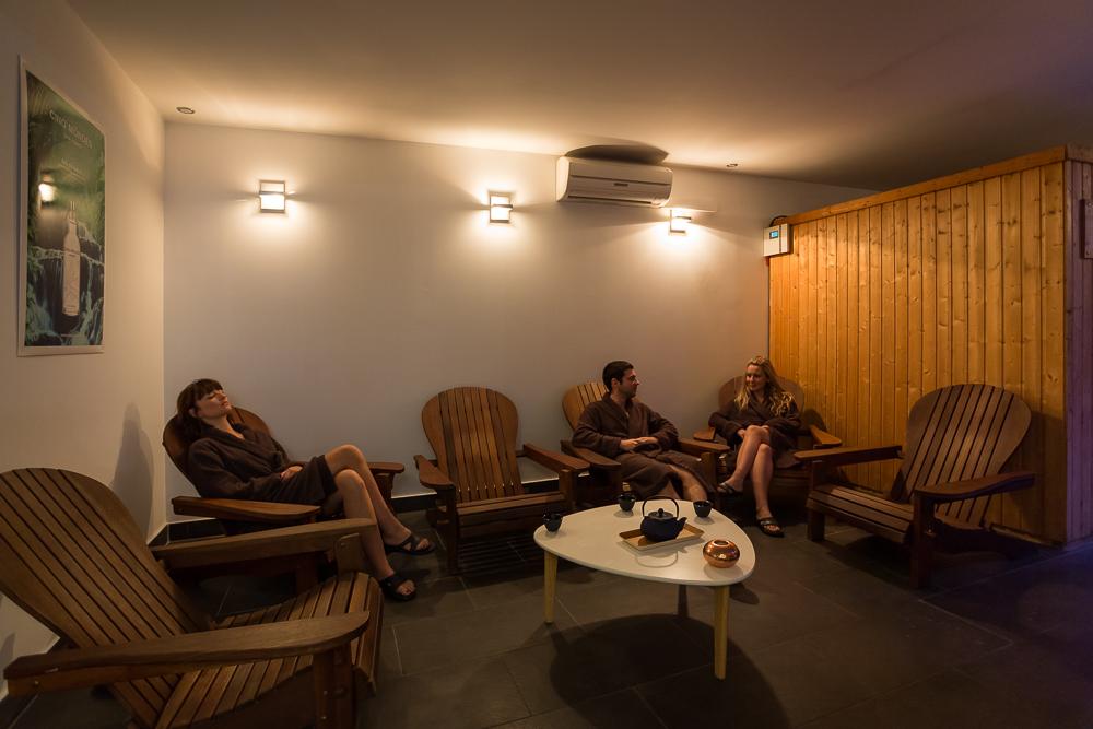 une salle de repos