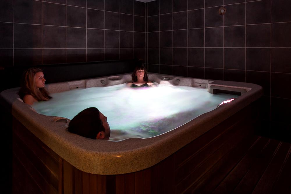 le Jacuzzi, bain à remoux